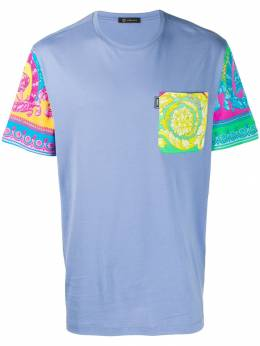 Versace - contrasting baroque printed T-shirt 909A0055899506808500
