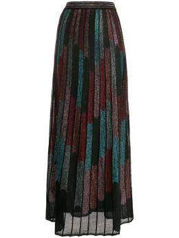 M Missoni - metallic pleated skirt 666600K660F950589360