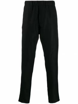 Ann Demeulemeester - elasticated straight leg trousers 83568933950689890000