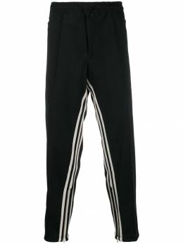 Y-3 - striped track trousers 3903STPCROPPED950355