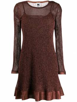M Missoni - metallic ribbed dress 669680K660E950589500