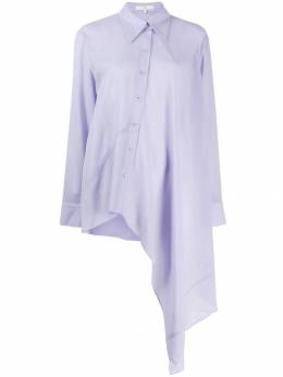 Tibi - crepe asymmetrical shirt 9WC33669509659300000