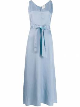 Forte Forte - long belted dress 5MYDRESS950656380000