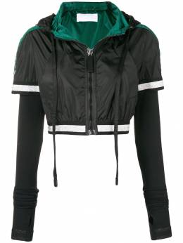 No Ka' Oi - cropped hooded jacket JKNOKW65665A69360999