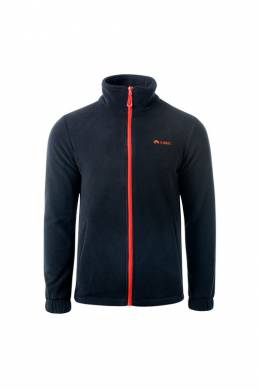 light jacket Elbrus FADEY_BLACK_SPICY_ORANGE