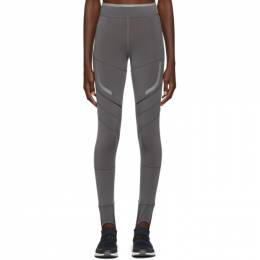 Adidas by Stella McCartney Black Run Climaheat Leggings 192755F08500403GB