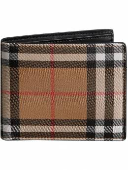 Burberry - Vintage Check Leather ID Wallet 56699096306900000000