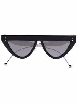 Fendi Eyewear - DeFender flat brow sunglasses 339S9560893300000000