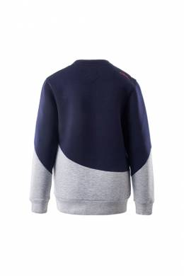 sweatshirt IGUANA LIFEWEAR TERRI_JRG_MOOD_INDIGO_LIGHT_GREY_MELANGE