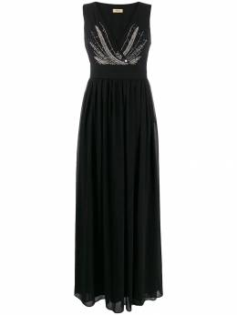 Liu Jo - Long Dress With Gemstones And Sequins 693T5635950553550000