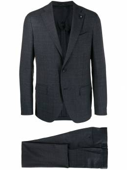 Lardini - plaid two piece suit 59AEILRP535989505558