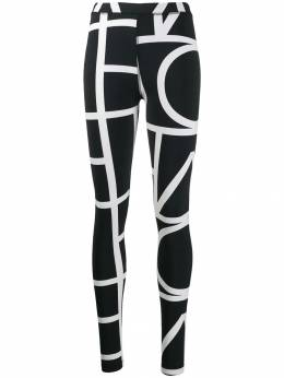 Toteme - negative monogram leggings 05838695039589000000