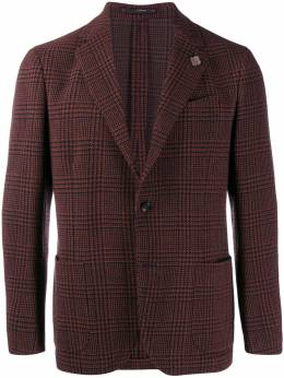 Lardini - tailored houndstooth check blazer 35AILA53536950505650