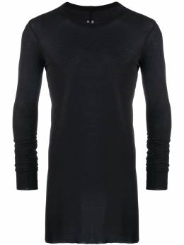 Rick Owens - long length sweatshirt 9F5050JS950396330000