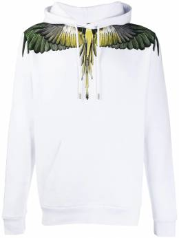Marcelo Burlon County Of Milan - Wings print hoodie B663E996366696988950