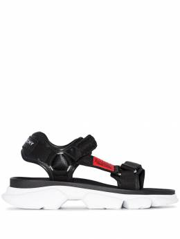 Givenchy - braided-strap chunky sandals 66JH6GM9595338300000