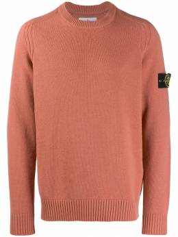 Stone Island - logo patch knitted sweater 5550A395033953000000