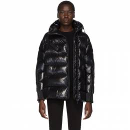 Moncler Black Down Liriope Jacket 192111F06100602GB