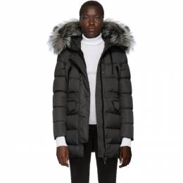 Moncler Grey Down Aphroti Parka 192111F06105605GB
