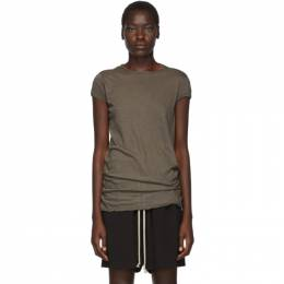 Rick Owens Grey Unstable Jersey Level T-Shirt 192232F11001002GB