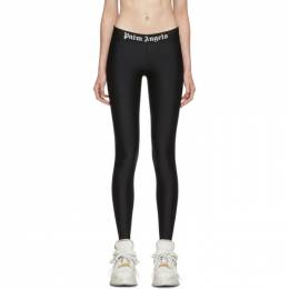 Palm Angels Black Sport Leggings 192695F08500103GB