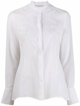 Ermanno Scervino - pleated lace shirt ruffle col 0K353FDZ950359030000
