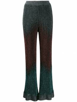 M Missoni - flared gradient knit trousers 666890K660G950958390