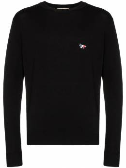 Maison Kitsuné - fox logo crew-neck sweater 6569KT96639595595300