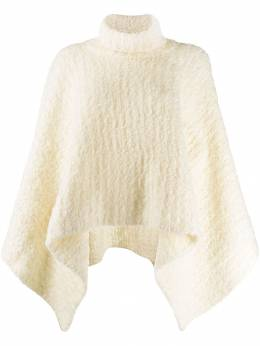 Jacquemus - turtleneck knitted poncho AC969938399695083696