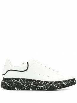 Alexander McQueen - painted sole lace-up sneakers 935WHWKA939596060000