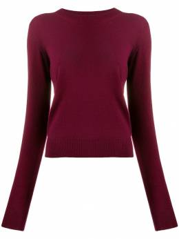 Maison Margiela - elbow detail knitted sweater HA6965S9688595033556