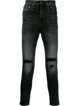 R13 - ripped detail jeans M8696530BLACK9509855