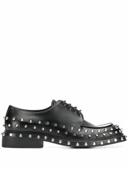 Prada - stud embellished Derby shoes 3063ZK99509685600000