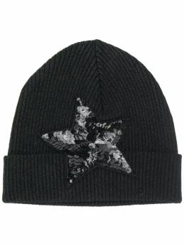 P.A.R.O.S.H. - embellished star beanie hat LUXD696596XZ95686936