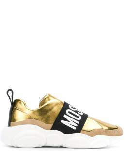 Moschino - contrasting panel logo sneakers 5633G98MO69508359000