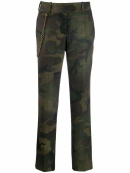 Ermanno Scervino - camouflage print trousers 6P366CLRF95035885000