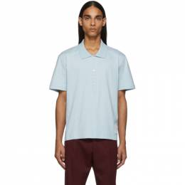Thom Browne Blue Relaxed Fit Polo 192381M21200403GB