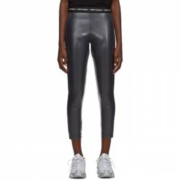 Marcelo Burlon County Of Milan Grey Shiny Leggings 192539F08500304GB