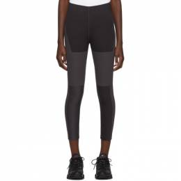 Nike Grey Tech Pack Crop Running Leggings 192011F08500102GB