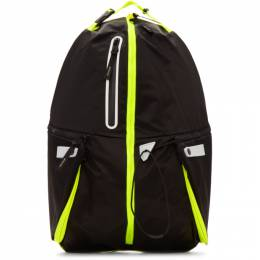 Master-Piece Co Black Game-Neon Backpack 192401M16603401GB