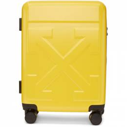 Off-White Yellow Arrows Suitcase 192607M17300501GB