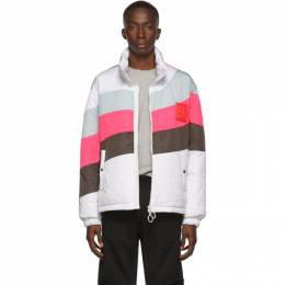 Off-White White Down Puffer Anorak Jacket 192607M17800202GB