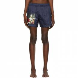 Off-White Navy Mariana De Silva Swim Shorts 192607M20800206GB
