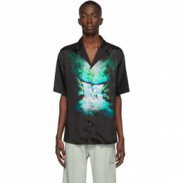 Off-White Black Waterfall Holiday Shirt 192607M19200106GB