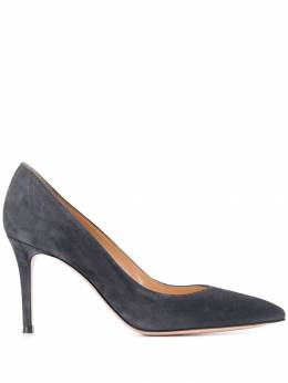 Gianvito Rossi - heeled suede pumps 58685RIC950836690000