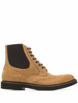 Eleventy - perforated lace-up boots SR6093SCA08663959996