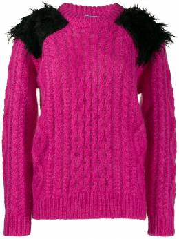 Prada - fluffy epaulette jumper S6PS9909UY0950608960