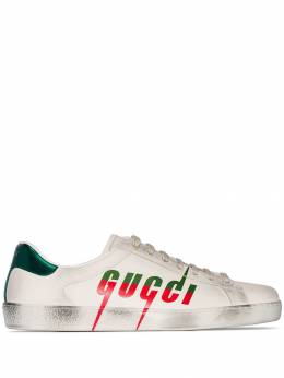 Gucci - Ace logo printed sneakers 933A38V6959856360000