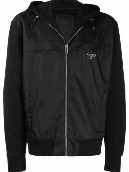 Prada - hooded zipped jacket 6369R5H9509553500000