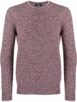 Fay - melange fitted sweater C9390086RGT69PR95053